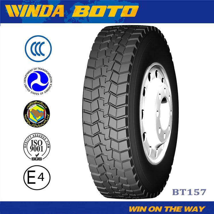 Boto Tubeless Tyre for Car Truck Radial Truck Tyre 315 70 22.5.