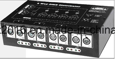 DMX-512 Signal Splitter or distributor or Amplifier