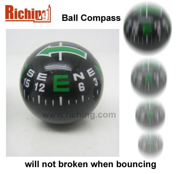 Ball Compass Will Not Broken When Bouncing #a-28-B