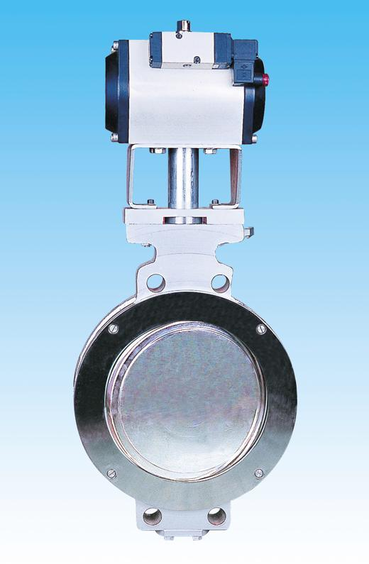 Program-Controlled Tri-Eccentric Butterfly Valve with High Performance