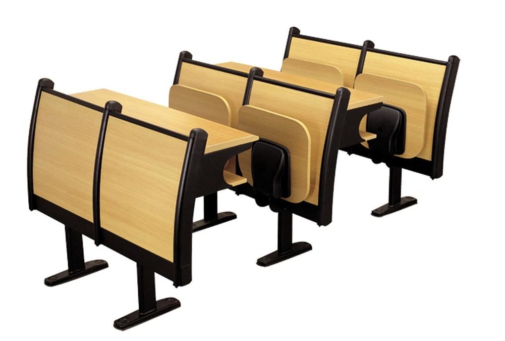 Escritorio y silla zn01 2 de la madera contrachapada de for Silla universidad