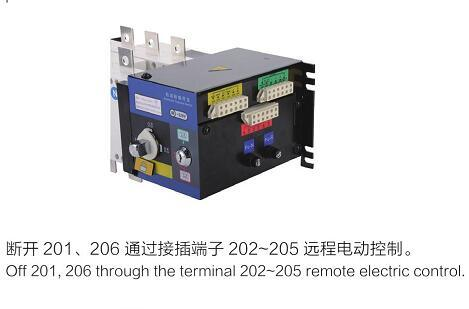 Remote Isolating Type Automatic Transfer Switch (GLD-1250/4)