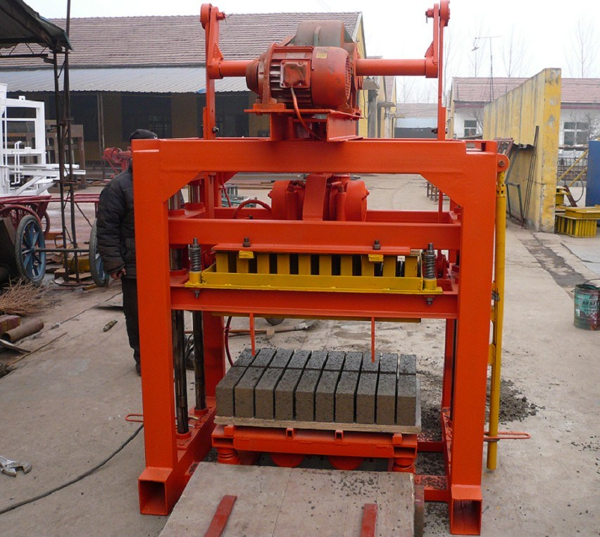 Small Manual Brick and Block Making Machine for Producing Good Bricks