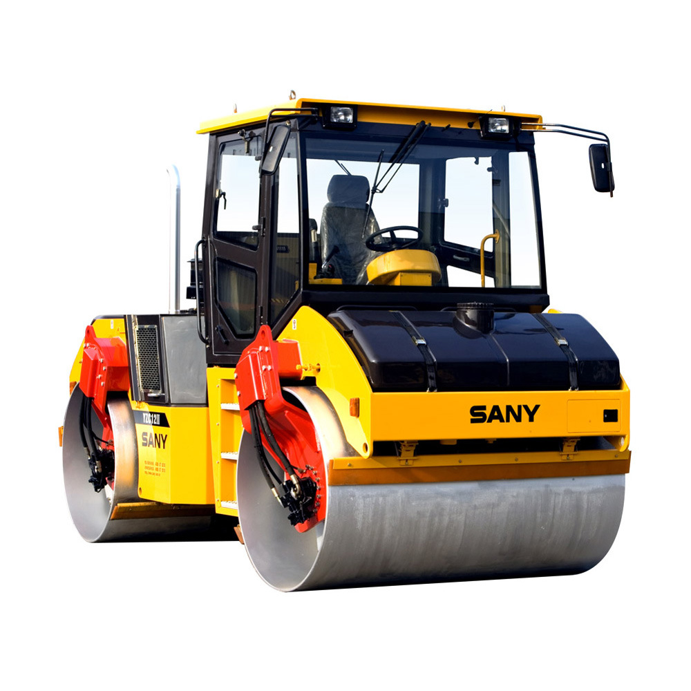 Sany Str130-6 13 Ton Capacity Double Drum Walk Behind Vibratory Roller