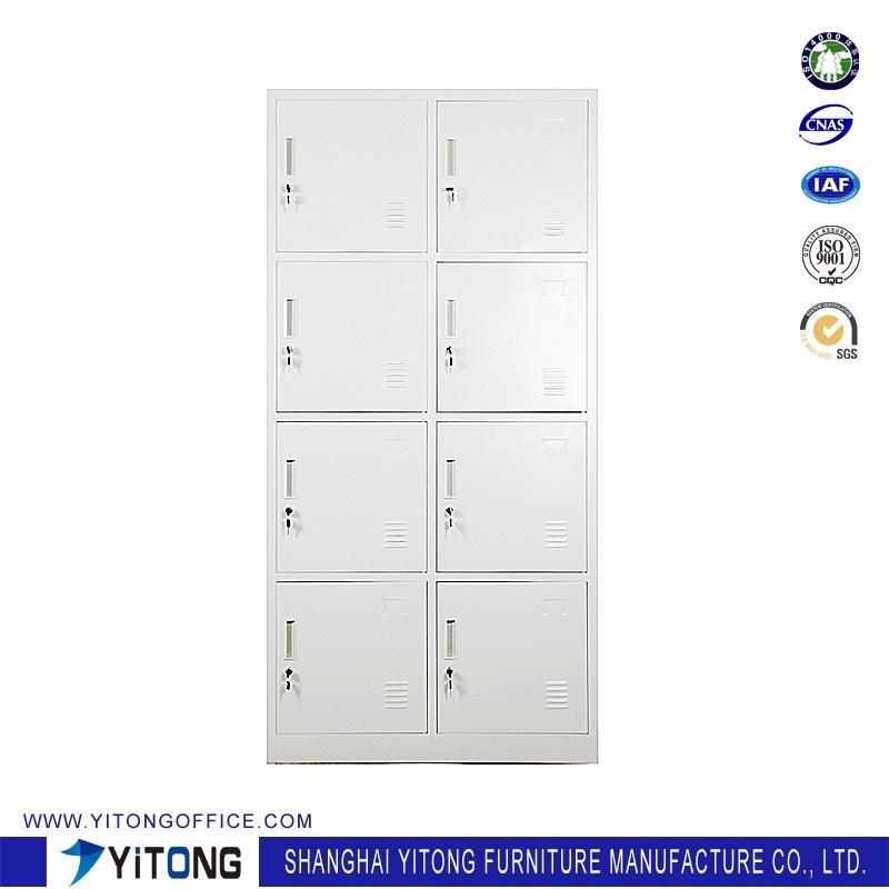 Yitong 8-Door Metal Storage Cabinet / Office Use Steel Locker