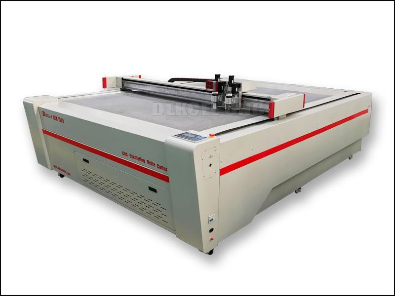 Digital Corrugated Oscillating Knife Plotter CNC Carton Box Leather Board Knife Cutter Machine
