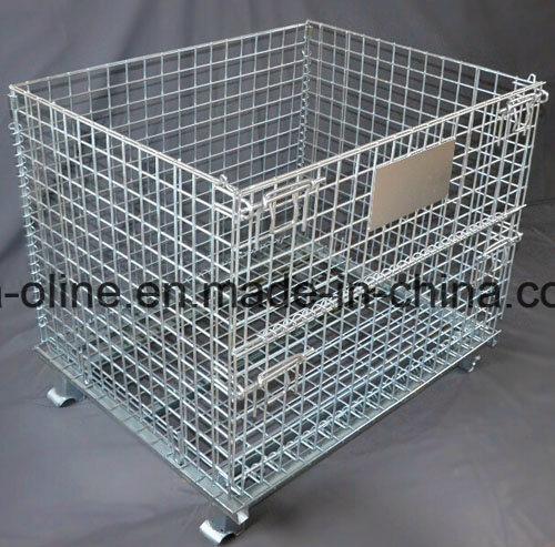 Steel Bulk Storage Container/Wire Basket