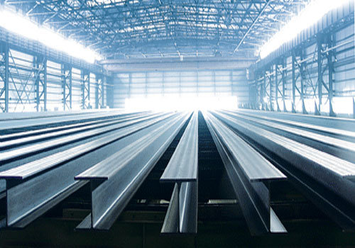 Welded Steel H-Beam in China