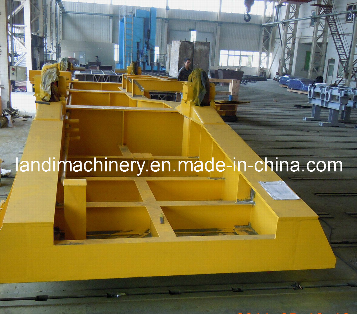 Steel Frame Fabrication for Metallurgy Machinery