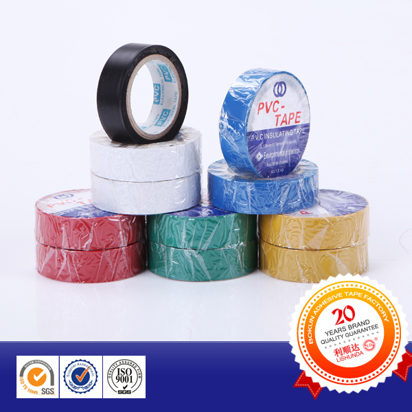 2015 High Quality Low Voltage Heat-Resistant PVC Insulation Tape