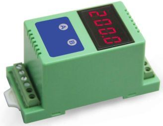 4-Digit LED Display Two-Wire 4-20mA Current Loop Isolation Digital Meter 4-20mA Analog Signal Isolated Control Display