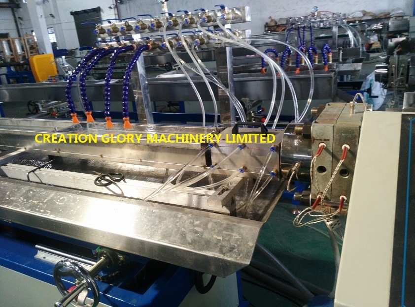 Customized PVC IC Electronics Package Pipe Plastic Extrusion Machine