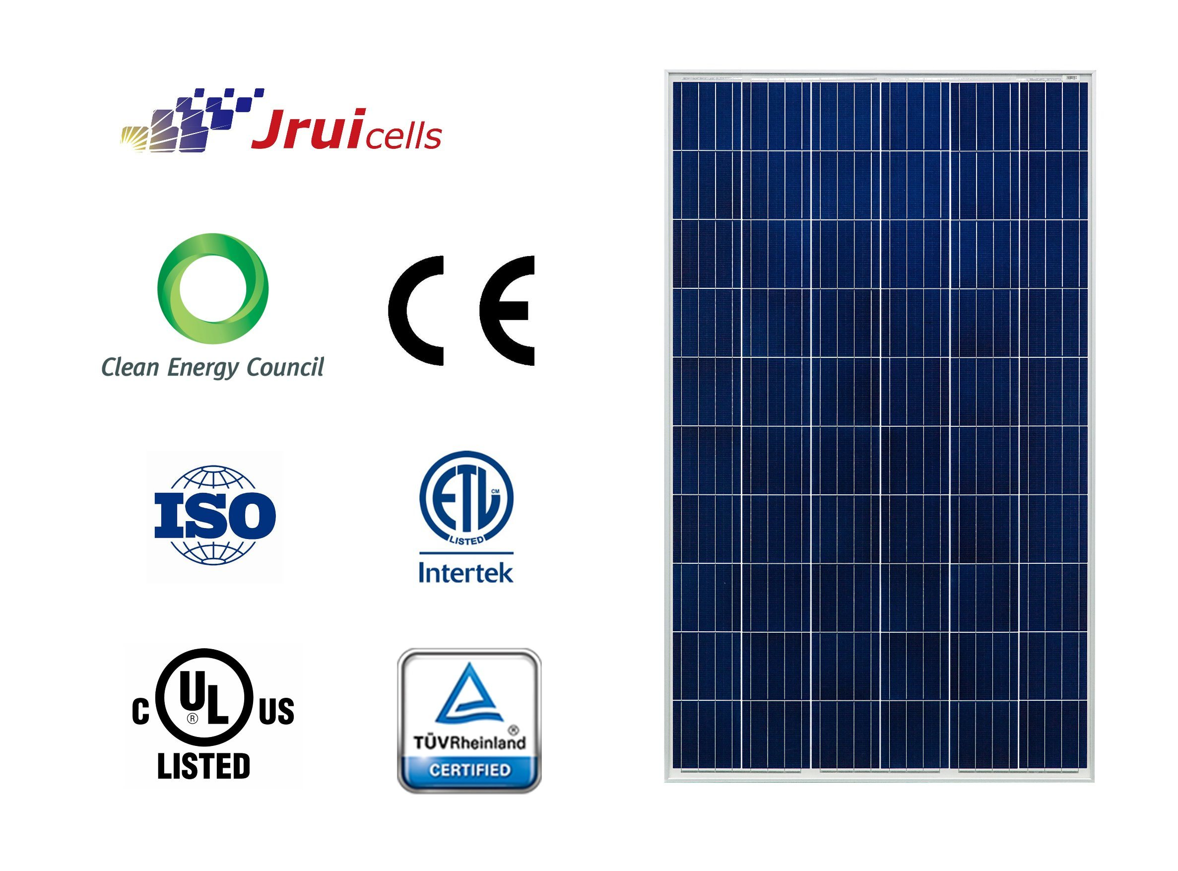 Micro Crack Resistant High Efficiency 270W Solar PV Panel