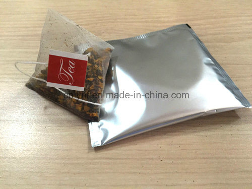 Pyramid Tea Bag with Envelope Packing Machine