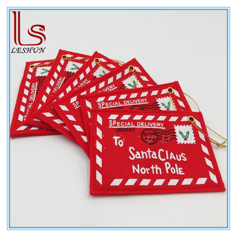Christmas Decoration Christmas Tree Hang Non-Woven Fabric Envelopes