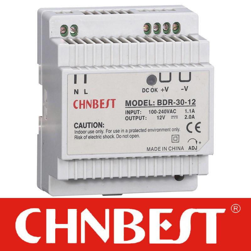 15VDC 45W AC/DC DIN-Rail Power Supply (DR-45-15)