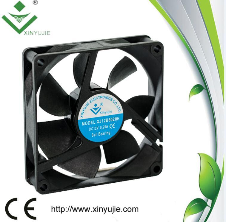 5V 12V Cooling Fan 80X80X20mm for LED Display Unit