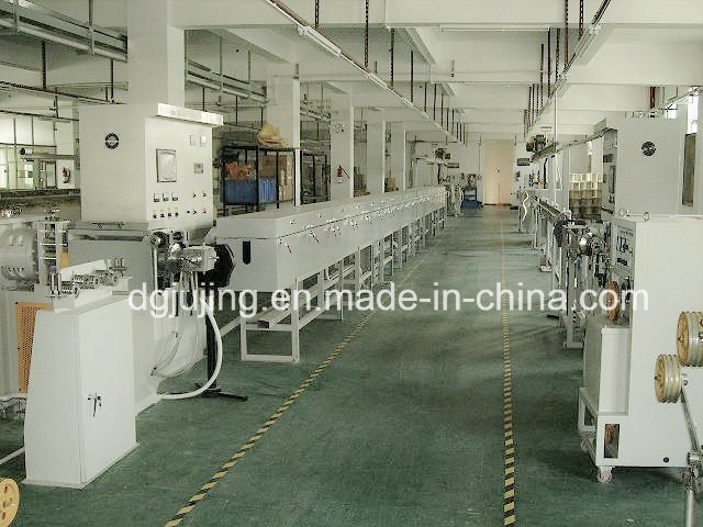 Silicone Cable Extrusion Line Cable Extrusion Machine
