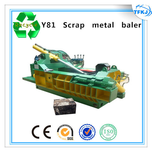 160ton Waste Metal Bales Machine Metal Scrap Compactor