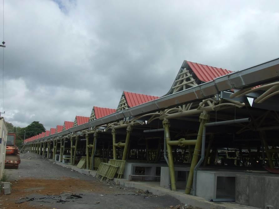 Steel Structure Prefab Shelter Bazaar