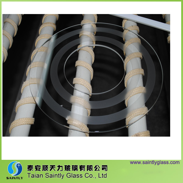 3, 2mm-4mm Round Tempered Flat Glass Lamp Shade