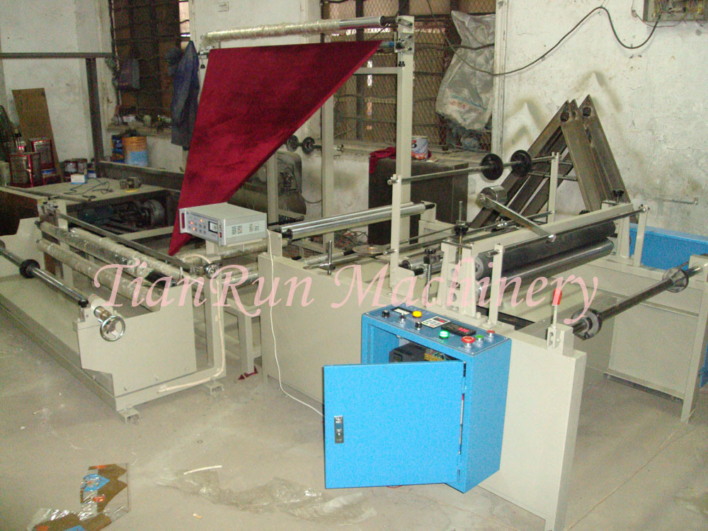 Plastic Film Folding and Rewinding Machinery (TR-ZB1200, TR-ZB1400, TR-ZB1600)