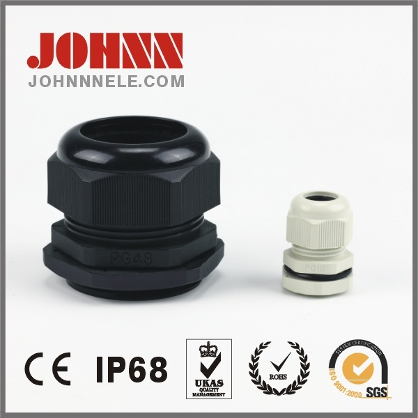 PVC Cable Gland Plastic Cable Accessory Pg Type