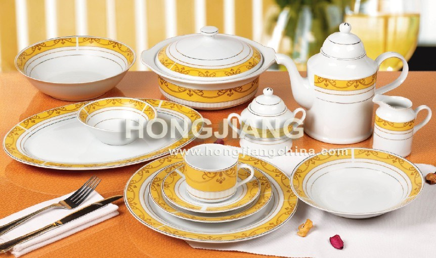Porcelain 60Pcs Dinner Set (66208#)