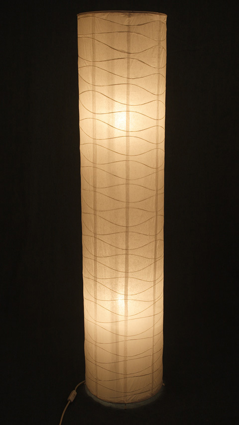 paper lantern bottom lamp