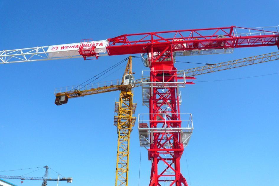 Tower Crane Productivity : China tower crane building machinery