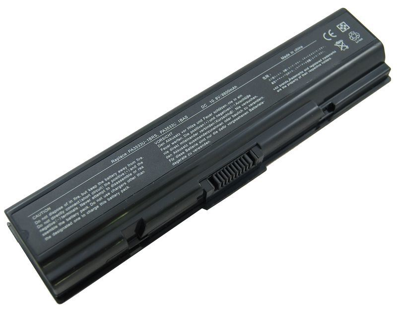 Replacement laptop battery for toshiba pa3536u-1brs