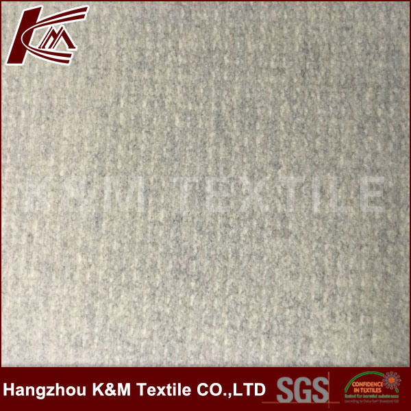 Garment Fabric Thick Warm Knitted Fabric Wool 50% Polyester 50%