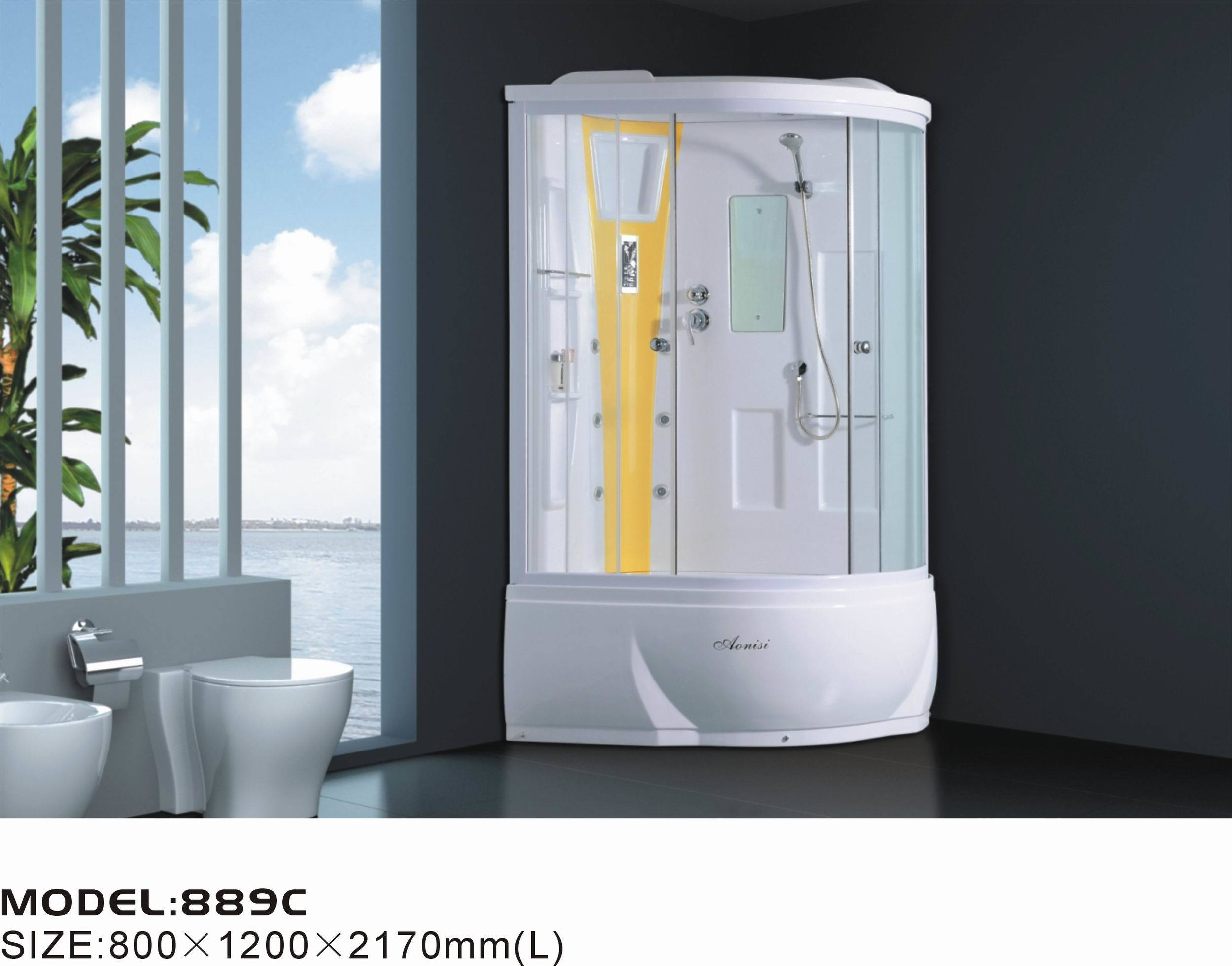 China bathroom shower ans 889c china bathroom shower for Bathroom accessories hs code