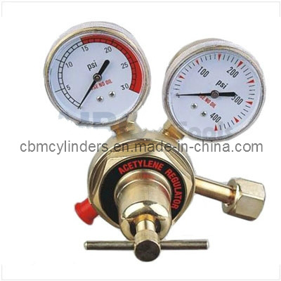 Industrial Acetylene Gas Regulator (Medium Victor-type) for Welding