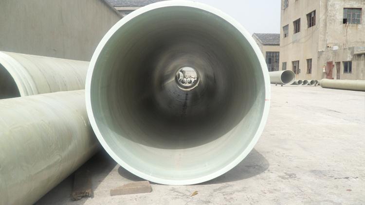 China grp drainage pipe frp