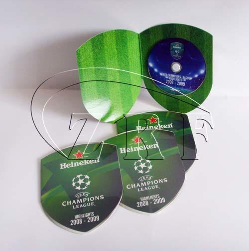 DVD Replication with Die-cut Mailer Packaging