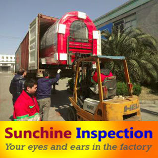 Food Cart Container Loading Check / Pre-Shipment Inspection Service in Shanghai