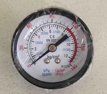 Y50 Iron Case Pressure Gauge