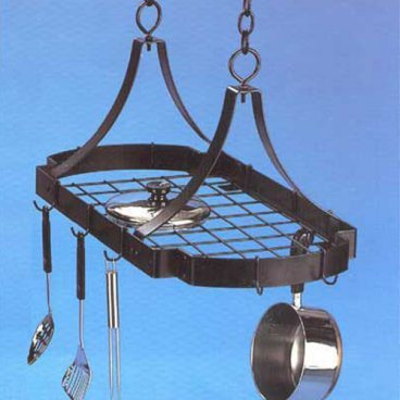 China Wrought Iron Kitchen Hanging Pot Rack (LMPR-3016 ...