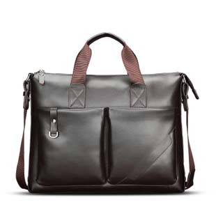 Genuine Leather Computer Fashion Bag (MD28122)