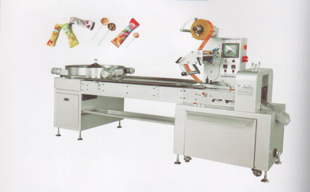 Automatic Ball Lollipop Flow Packing Machine