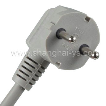 Kc Power Cord Plug (YS-48)