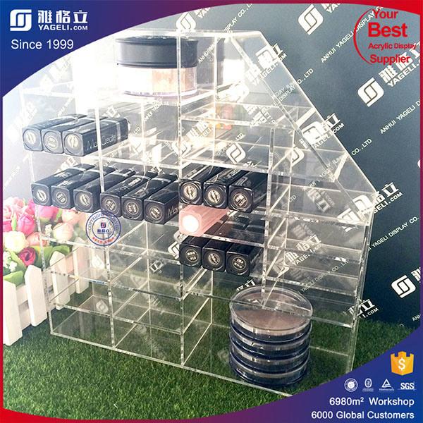 Cosmetic Organizer - Acrylic Organizer-Perfect for Nail Polish, Jewelry, Lipstick, Makeup