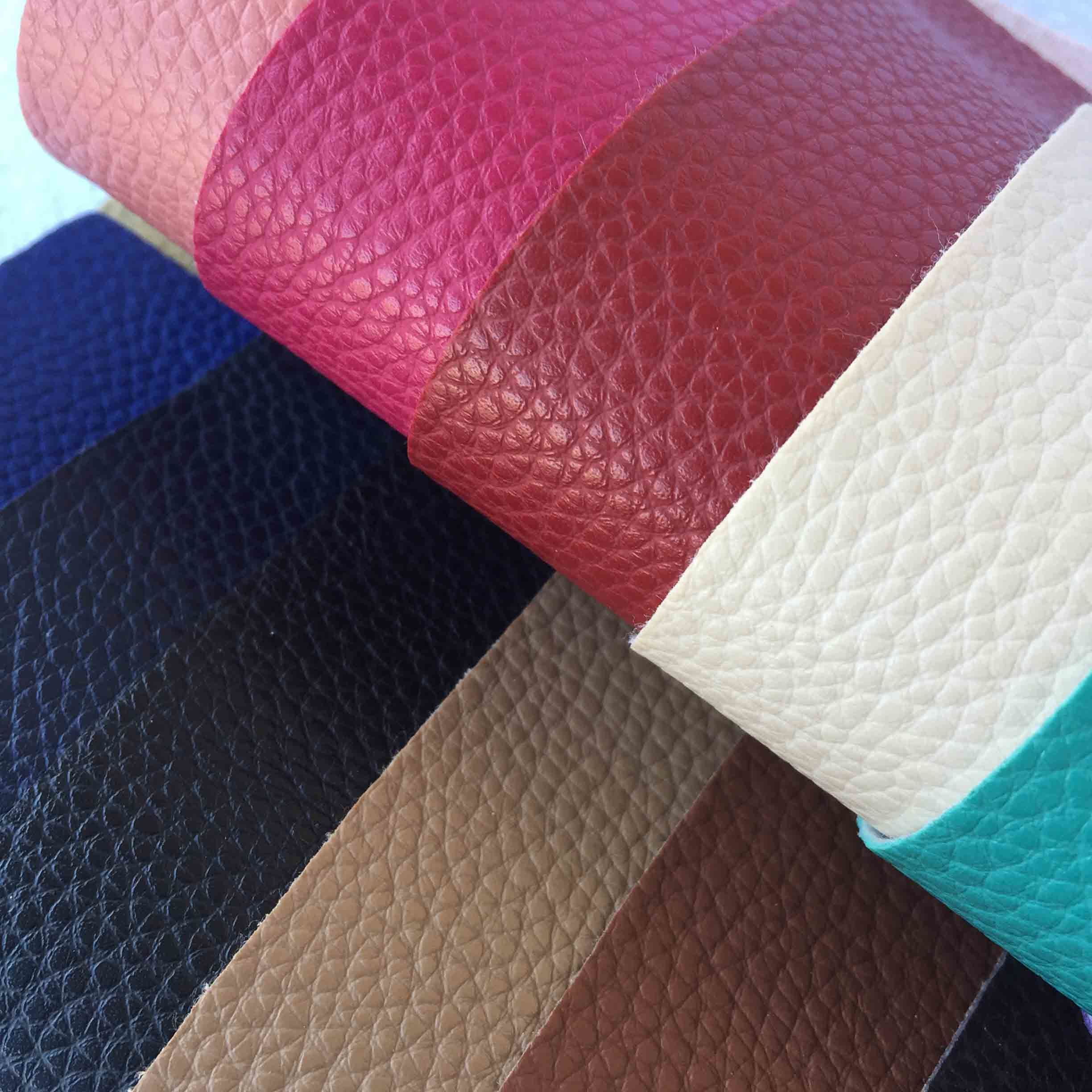 Geniune Leather Feeling Soft Sofa Cover Microfiber Leather PVC Synthetic Leather