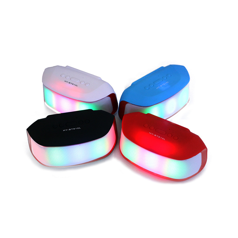 Factory Price Multi-Function Customized Bluetooth Speaker with LED Light