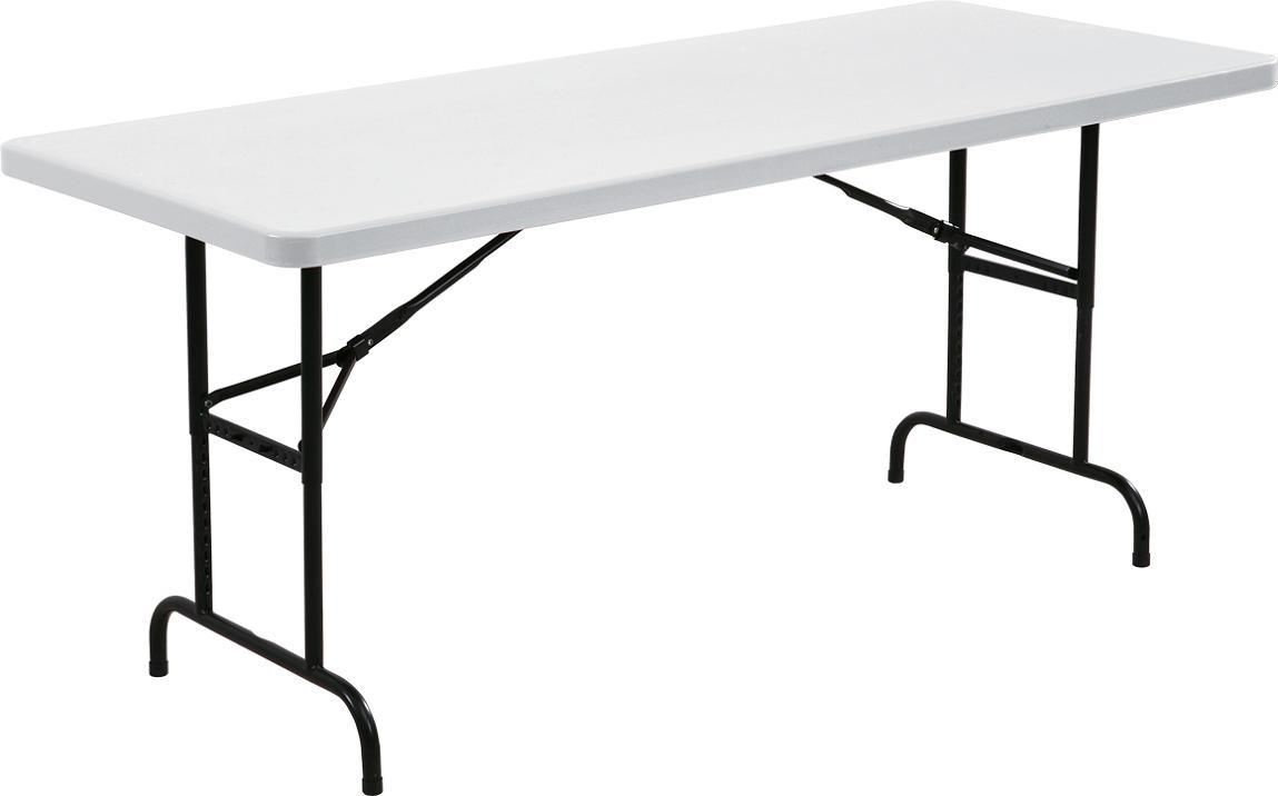 6FT Height Adjustable Folding Table (YCZ-183A)