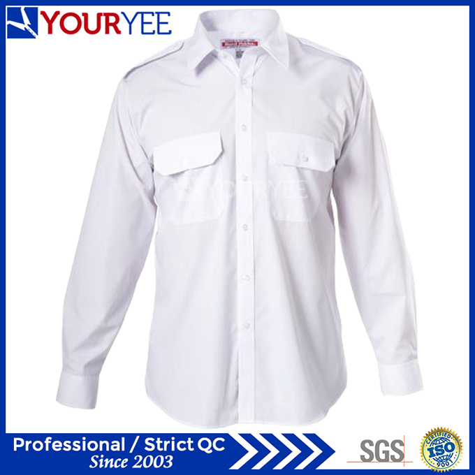 Customized Cotton Work Shirts Summer Work Chothes (YWS114)