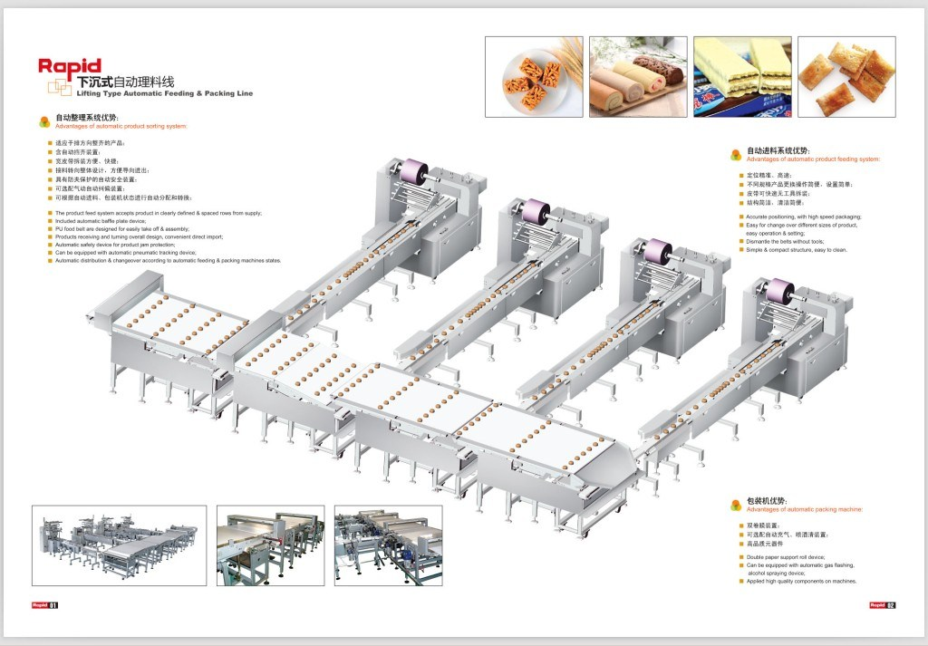Automatic Packaging Lines for Cakes
