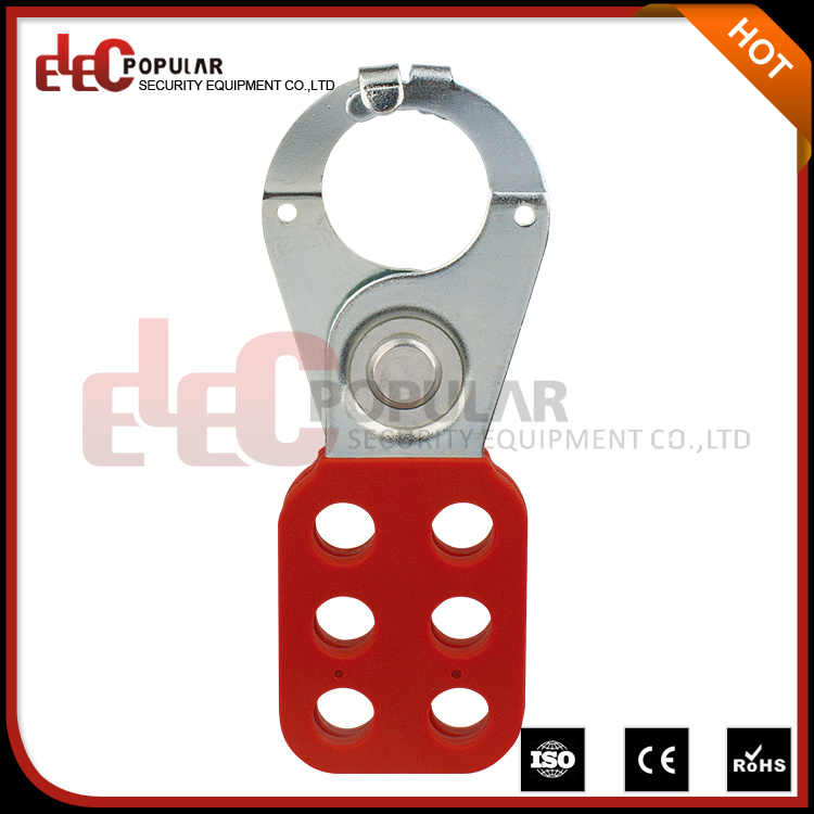 "1"" Steel Lockout Hasp with Tab"