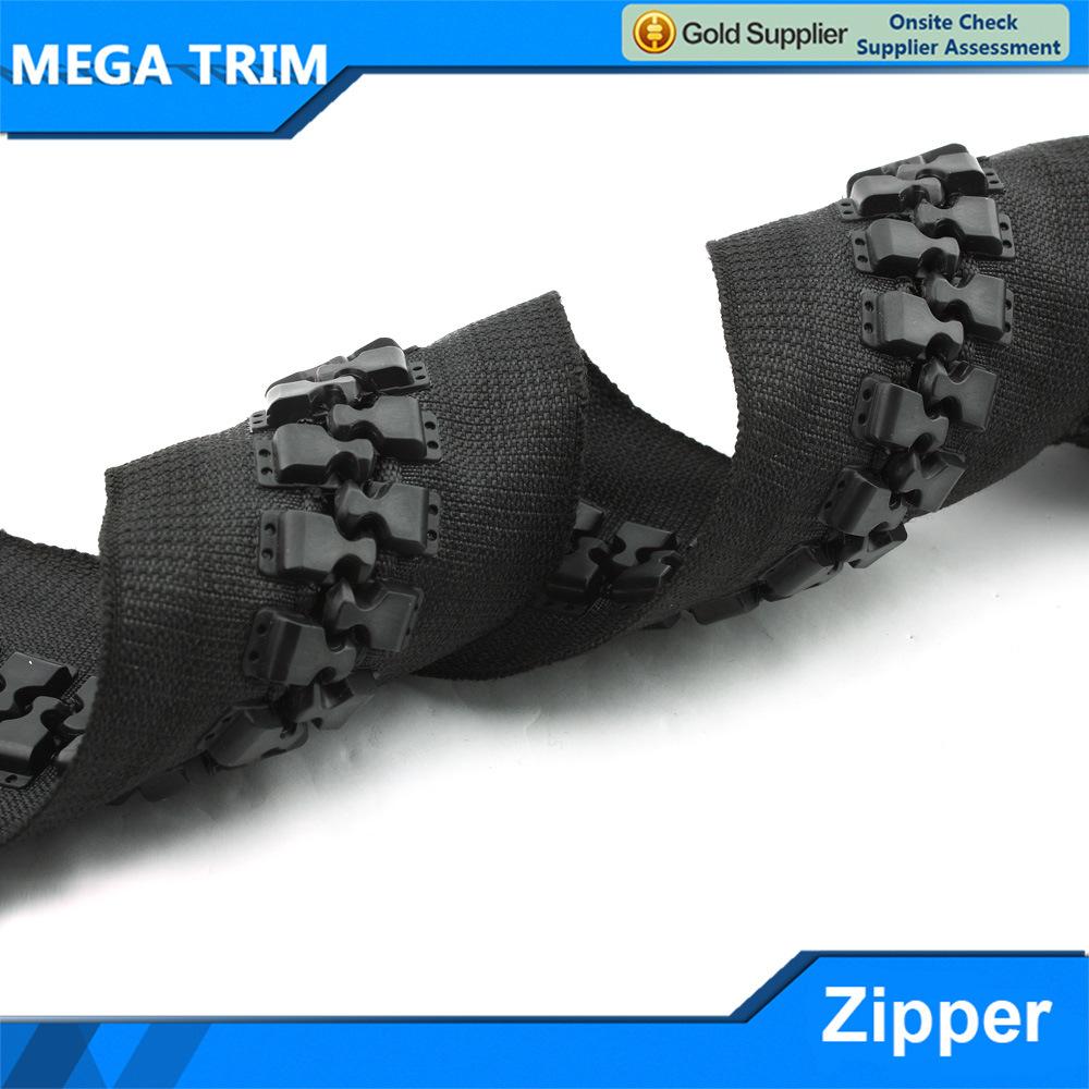 30# Big Plastic Zipper for Bag
